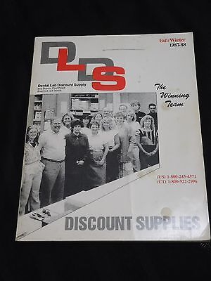 Discount Catalogues (Dental Lab Discount Supply Catalog 1987-8 industry supply teeth dentist)
