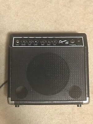 Squier 15 amp Used