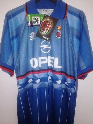 AC MILAN 1995-1996 BNWT Opel camiseta shirt trikot maillot maglia lotto