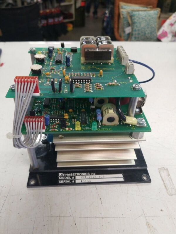 PHASETRONICS MODEL EP1-2025-FCS POWER CONTROL MODULE