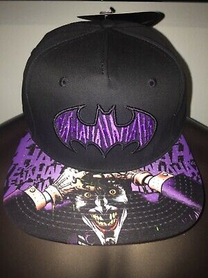 THE JOKER Harley Quinn SUICIDE SQUAD Batman movie COMIC Book New Men's HAT Cap - Joker Hat