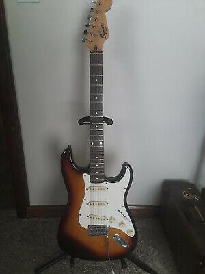 Vintage Fender  Squier Stratocaster Guitar MIK 1995 Burst nice!