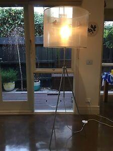Tripod Floor Lamp Fairfield Darebin Area Preview