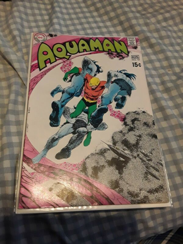 Aquaman #52 FN+ 6.5 Neal Adams Art