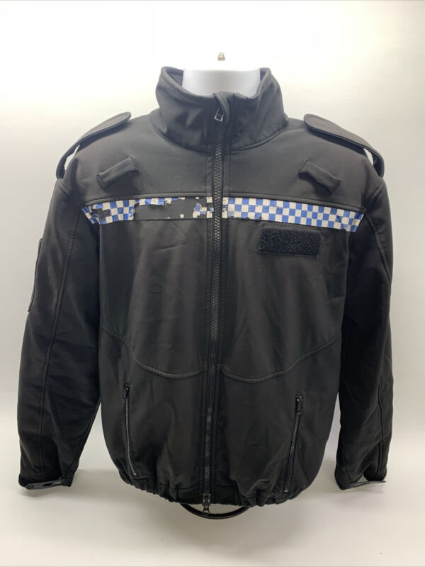 Genuine Ex Police Soft Shell Jacket Grade 2 Breathable Unisex Windproof Security