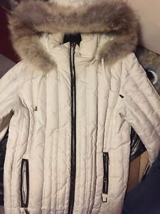 White down filled jacket