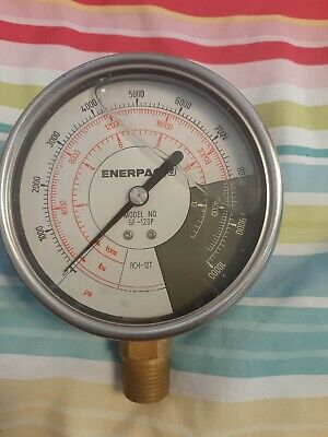 Mechanical Pressure Gauge Psi Lbs And Tons