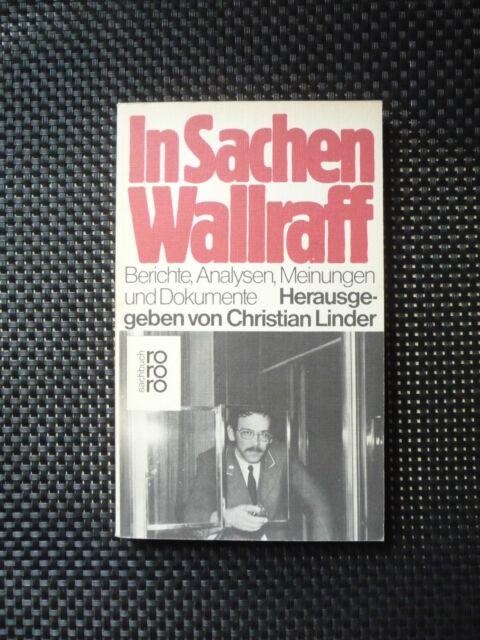 Hrsg. Christian Linder - In Sachen Wallraff