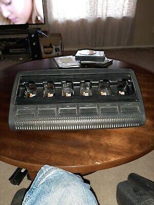 Motorola Impres Gang Charger Wpln4197a Ht750 Ht1250 Pr860 Excellent Condition