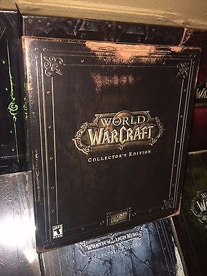 2004 Vanilla World Of Warcraft Collectors Edition Ce   Original   Sealed   Us Na