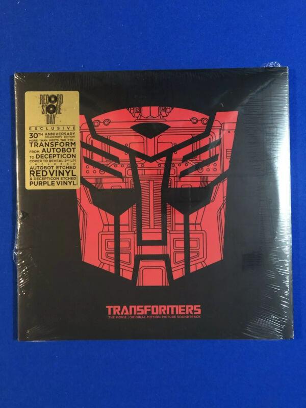 Transformers The Original Soundtrack  On Wax Vinyl.