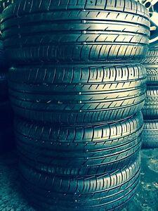 195/55R15 set of Excellent Tyres falken. Summer Hill Ashfield Area Preview