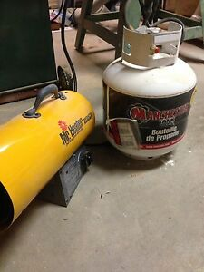 Mr heater 60,000BTU with propane tank