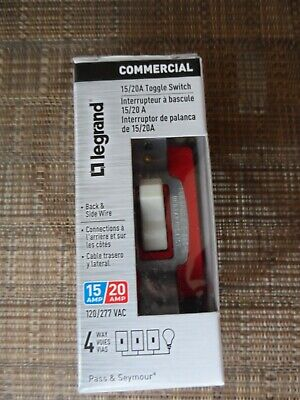 12 Legrand Commercial 1520a 4 Way Toggle Switch Rcsb20ac4lacc6 Light Almond