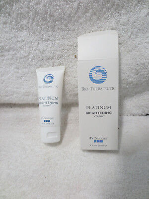 Platinum Brightening Cream 1Oz B T Ceuticals Bio Therapeutic New In Box