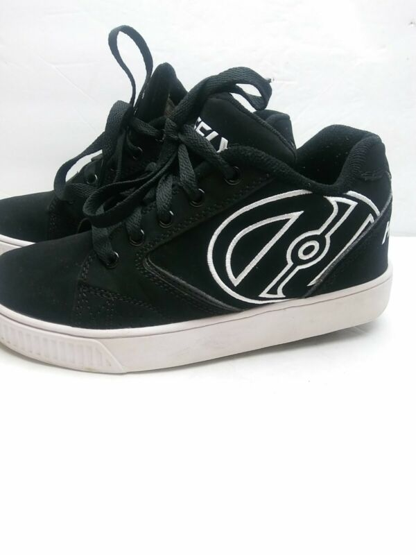 Heelys Skate Shoes Black Youth Kids Size 4 Propel 770129