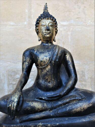 Large 20th Century Bronze Thai Buddha