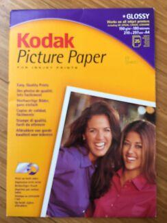 Kodak Picture Paper For Inkjet Prints - Glossy - 18/25 Sheets Jerrabomberra Queanbeyan Area Preview