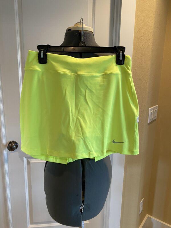 NWT Nike Golf Bogalicious Skort - Women sz Sm - Yellow - 725787-702
