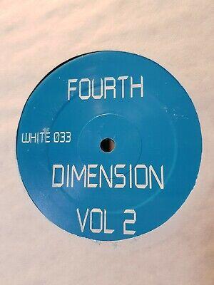 FOURTH DIMENSION VOL 2 - F PROJECT / FORMATION - WHITE033 - RARE HARDCORE JUNGLE
