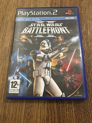 """Star Wars Battlefront 2"" Sony PlayStation 2  Video Game"
