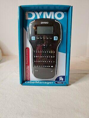 Dymo Labelmanager 160 Portable Label Maker Blacksilver 1790415