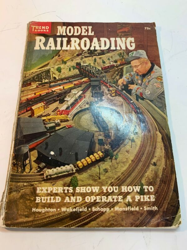 Vintage MODEL RAILROADING by Trend Books 1956 No. 138
