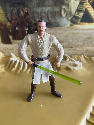 Star Wars EP1 Collection Qui-Gon Jinn 1999 Action Figure Hasbro Kenner 157