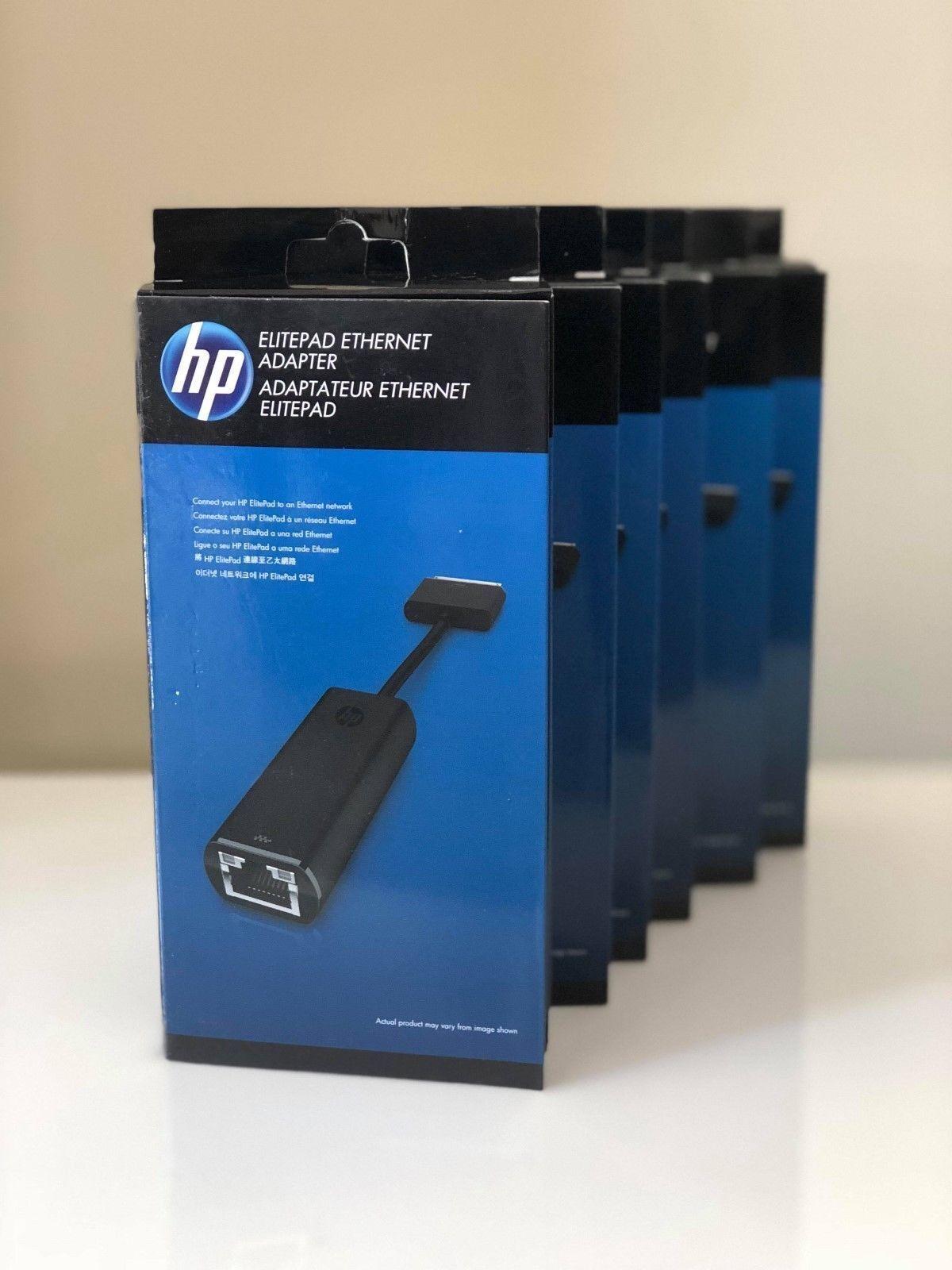 HP Model: F9D31AA ElitePad Power//Ethernet Adapter Hewlett Packard