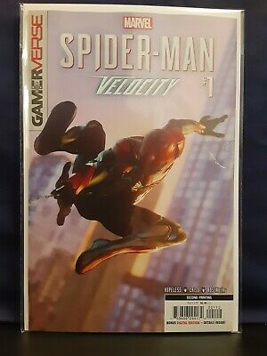 Spider-Man Velocity #1 Marvel, 2020 2nd Peint Variant Rare NM/M 9.8