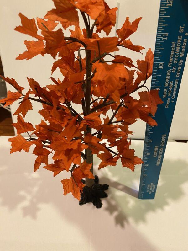 "lefton colonial village 12"" Wire Maple Tree"