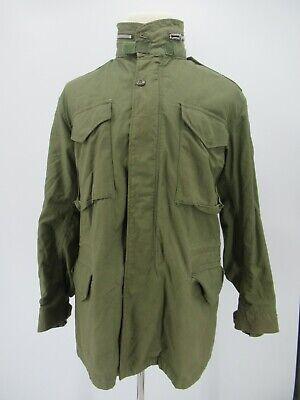 L4390 VTG Alpha Industries Inc. Men's Hooded Field Jacket Size M