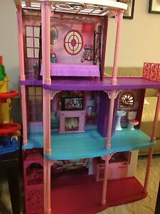 Barbie 3- Story townhouse