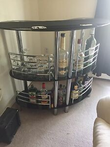 Stylish Glass Bar for sale!
