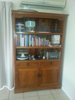 FAR PAVILLION KITCHEN HUTCH - TEAK SOLID TIMBER Eatons Hill Pine Rivers Area Preview
