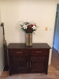 Timber Buffet Unit - 2 drawers/doors