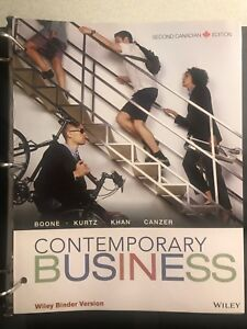 Contemporaty Business Second Canadian Edition