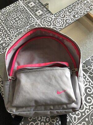 Nike Mini Backpack Pink & Grey