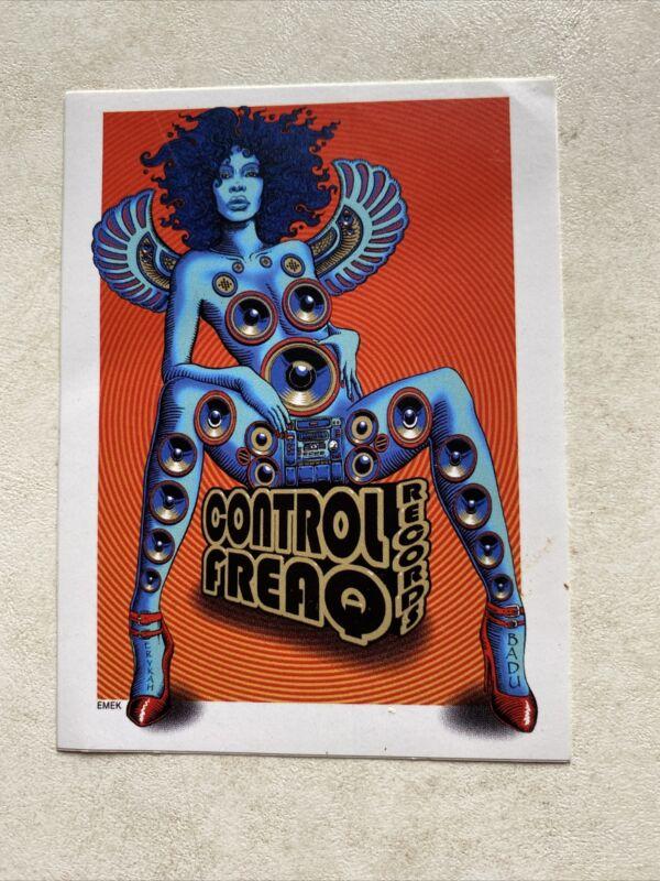 Erykah Badu - Control Freaq Records Sticker