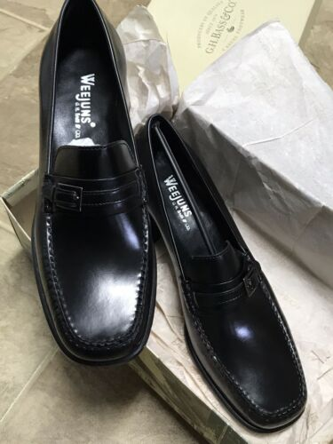 NEW IN BOX GH Bass & Co. Weejun's Leather Penny Loafers 9.