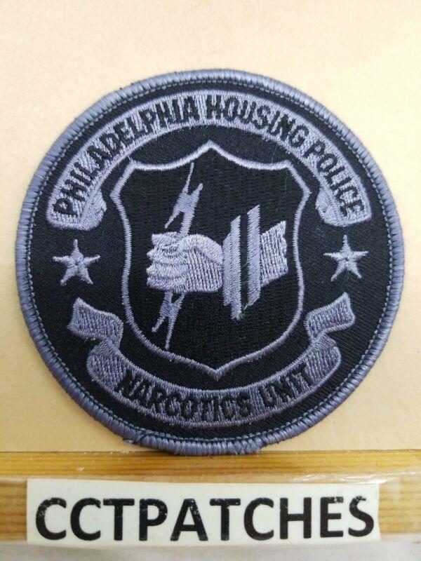 PHILADELPHIA, PENNSYLVANIA HOUSING POLICE NARCOTICS UNIT SUBDUED PATCH PA