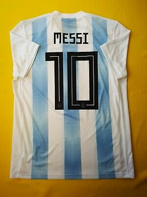 dc278804e 5+ 5 Messi Argentina soccer jersey medium 2018 shirt BQ9324 football Adidas  ig93