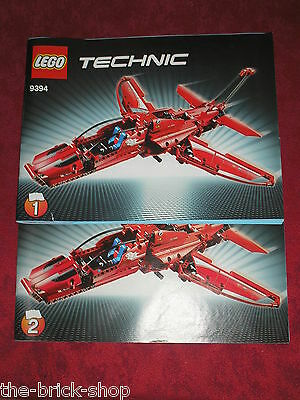 Notice Building instruction booklet LEGO TECHNIC set 9394 Jet Plane