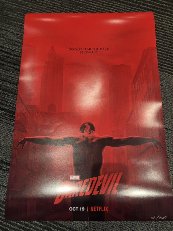 NYCC 2018 Daredevil Season 3 Poster Netflix Panel Exclusive Marvel 20x13.5