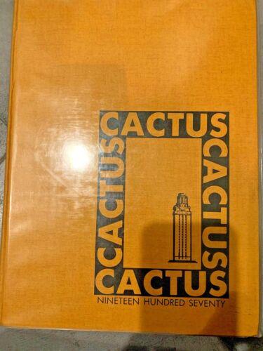 1970 University of Texas Cactus