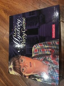 American girl Molly Mystery Party Game