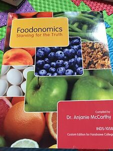 Gen Ed Food Economics book
