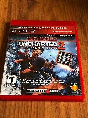 Uncharted 2: Among Thieves -- Game of the Year Edition (Sony PlayStation 3, 2010 for sale  London