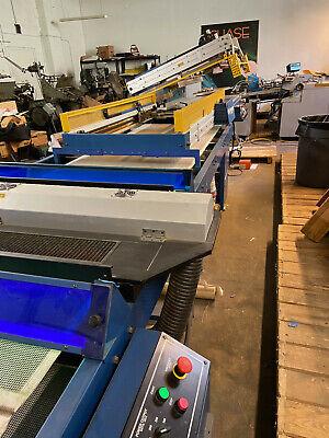 Mr Saturn Sentry Vitran Screen Printing Line. Great Condition