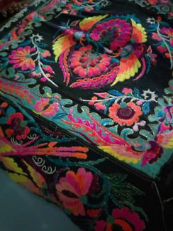 Textured  handmade cushions 60 cm